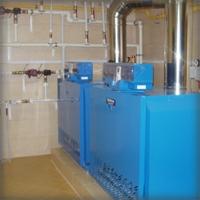 Отопление в доме из арболитовых блоков