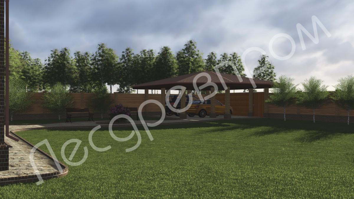 Дом из арболита К-164, Проект Логен