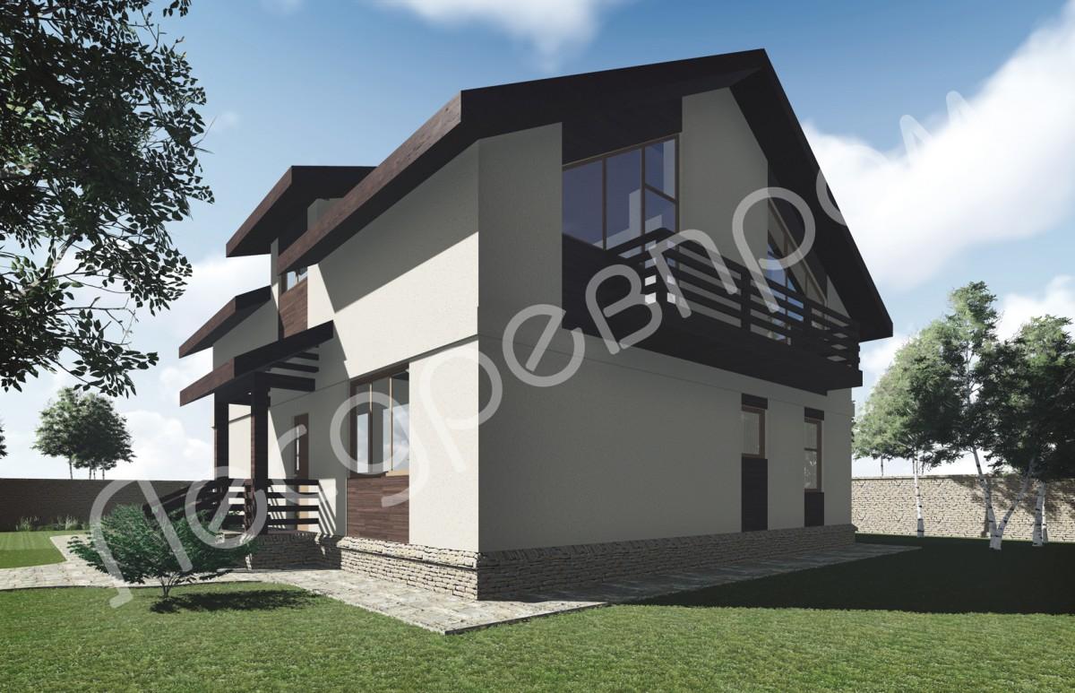Проект дома К-229, Чемал