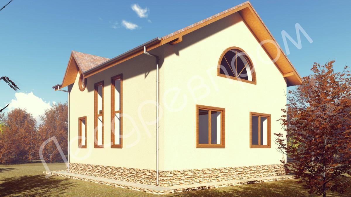 Проект дома К-110, Мирный
